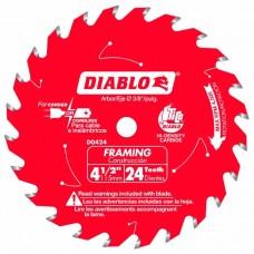Диск пильный по дереву Diablo D0424X