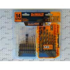 Сверла (набор=14шт) Dewalt dwa1184