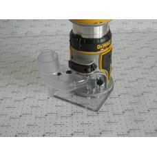 Пылеулавливатель - адаптер для пылесоса DNP615 для фрезера Dewalt DCW600B