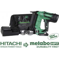 Гвоздезабивной пистолет (нейлер) аккумуляторный отделочный набор Metabo HPT NT1850DE [18_ga]