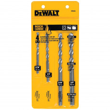 Сверла по бетону (набор=4шт) Dewalt dw5204
