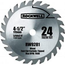 Диск пильный по дереву Rockwell rw9281