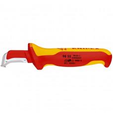 Нож с пяткой для снятия изоляции KNIPEX KN-9855